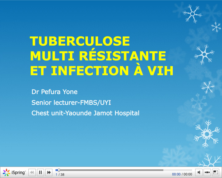 Tuberculose multi résistante et infection à VIH. EW Pefura-Yone