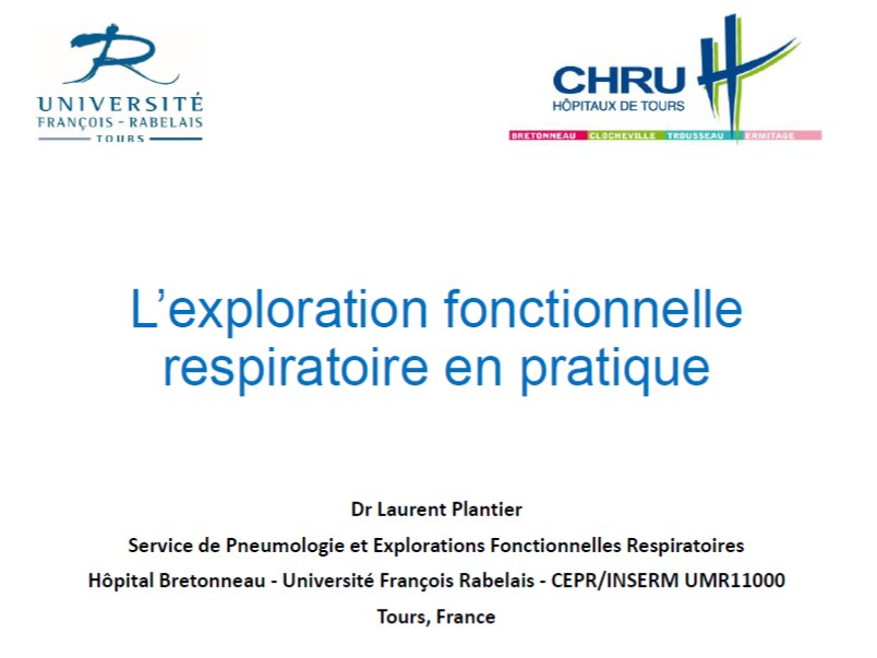 L'EFR en pratique. Laurent Plantier